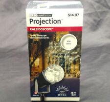 Christmas Led Light Show Projector Kaleidoscope White Laser Yard Outdoor Decor