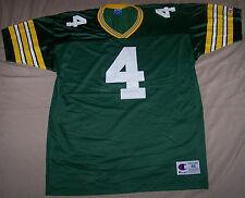 VINTAGE 1990s BRETT FAVRE GREEN BAY PACKERS Size 48 CHAMPION NFL FOOTBALL JERSEY