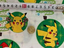 "Print Fabric, Precuts Fat Quarter 18"" x 21"" (Pokemon Pikachu) 100% COTTON"