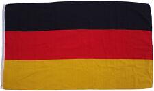 Calidad Superior - Bandera ALEMANIA BRD 250 x 150cm, Tela pesada Aprox. 100 g/m²