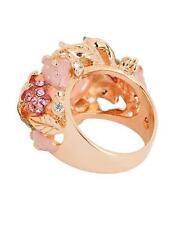 Pink Plastic Costume Rings