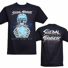 SUICIDAL TENDENCIES - WORLD GONE MAD - Official T-Shirt - New S M L XL 2XL