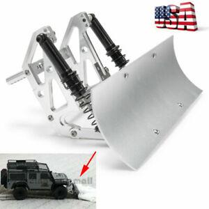 Alloy Snow Shovel Plow Blade For TRAXXAS TRX4 SCX10 SCX10lI 1/10 RC Crawler -US