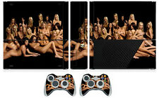 Girls 204 Cover Decal Skin Sticker for Xbox360 Slim E and 2 controller skins