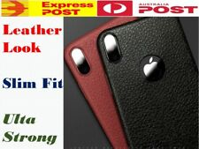 Slim Leather Look Case Cover For Iphone XS X 7 7 6 6S Plus SHOCKPROOF