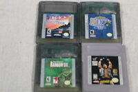 lot of 4  gameboy color