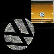 For VW Volkswagen Beetle Polo Lamando Bling Car Front Logo Emblem Sticker Decal