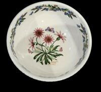 Beautiful Portmeirion Botanic Garden Treasure Flower Medium Salad Serving Bowl