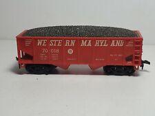 Marx Western Maryland 70018 Coal Hopper - Ho Scale