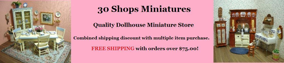 30 Shops Miniatures