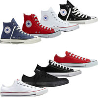Mens Womens Converse High Low Tops Canvas Shoes Chuck Taylor All Star Trainers