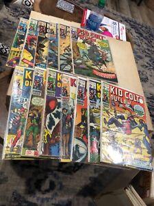 Marvel Kid Colt  Silver Age Western lot of 13 comics