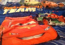 Disney Pixar Cars 2 Mission Unstoppable Toddler Bedding 3pc, Flat, Fitted Sheets