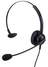 Headsets for Cisco IP Phone SPA303G, SPA501G, SPA502G & SPA504G Single Ear