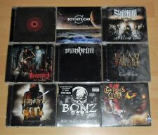 9 CD-Metal Paquet-Heavy/Trash/Black/Doom/goth/Stoner-NEUF-COLLECTION/liasse
