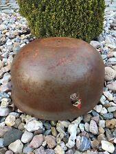 GERMAN HELMET M38 HELM STAHLHELM WW2 MILITARY CASQUE DEUTSCHER