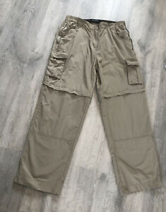 Ladies Mountain Warehouse Walking Cargo Trousers Pants UK Size 12 With Pockets
