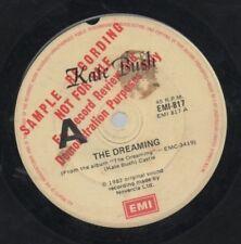 "KATE BUSH   Rare 1982 Australian Promo Only 7"" OOP Pop Single ""The Dreaming"""