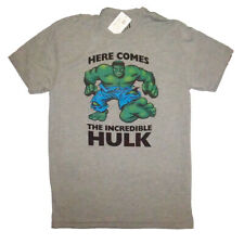 Here Come The Incredible Hulk Smash Marvel Comics Mens Tee