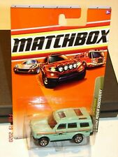 """MATCHBOX Outdoor Sportsman #81 LAND ROVER DISCOVERY """"WILDFIRE RESCUE"""" 2009 *MOC*"""