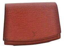 Authentic Louis Vuitton Epi Pochette Ceinture Tilsitt Bum Bag Brown LV 66377
