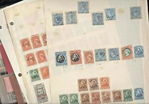 CANADA, Excellent assortment of REVENUE Stamps hinged on pages & in other