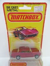 Matchbox Superfast 39b Rolls Royce Silver Shadow - Metallic Red w/BROWN INTERIOR
