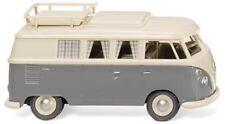Wiking 079724 - VW T1 Campingbus - perlweiß/grau (1:87)_NEU/OVP