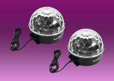 2 X Led BC-2 Beam Efecto Espejo Eurolite bola de luz Discoteca DJ