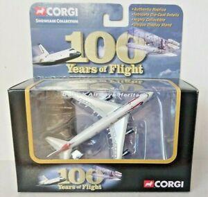 Corgi 100 Years of Flight CS90281 Boeing 747-400 British Airways NEW