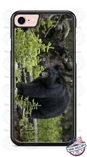 Black Bear Wild Animals Phone Case Cover For iPhone 11Pro Max Samsung LG Google