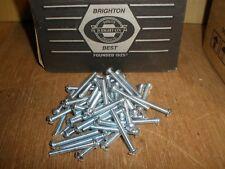 "(Qty.200) 10-24 X 1-1/2"" Round Head Combo Slotted Phillips Zinc Machine Screws"