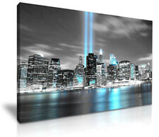 NEW YORK CITY Manhattan Skyline Canvas Print Picture ready to hang  framed