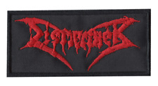 Dismember (Swe), Red, Patch