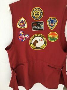 Skeet trap shooting long vest medium men's chest 38-40  see add