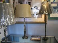 JAGUAR TABLE AND FLOOR LAMPS MADE FROM OE CAMSHAFTS & MAIN SHAFTS