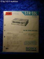 Sony Service Manual STR S5L Receiver (#0135)