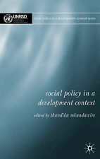 Social Policy in a Development Context, Mkandawire, P. Thandika, New Book