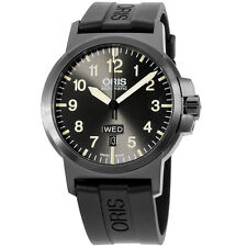 Oris Gray Dial Silicone Strap Men's Watch 73576414263RS