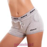 Mujer pantalones cortos shorts deporte fitness hot jadear danza algodón sexy