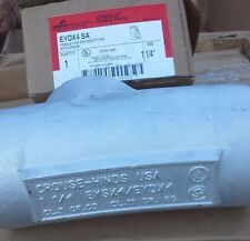 "NEW Cooper CROUSE HINDS EYDX4SA 1 1/4 "" EXPANDED FILL DRAIN SEAL"