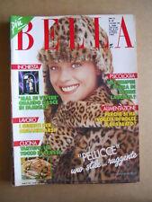 BELLA rivista di lavori Femminili n°49 1989  [G582]