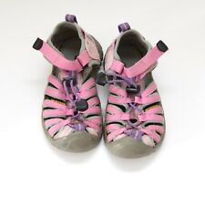 Keen girls pink water sandals shoes size 11