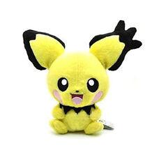 """Pokemon 8"""" Rare Pichu Pikachu Animal Stuffed Soft Plush Doll Toy New"""