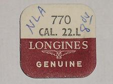 Longines 22L 22LNS 22LS 22N mainspring Ressort de barillet Zugfeder Aufzugfeder