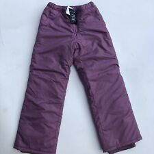 NWT Girls Childrens Place Snow Pants Dewberry Size 10 Kids Winter