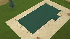 18'x36' ULTRA LITE SOLID Rectangle Swimming Pool Safety Cover w/4'x8' Right Step