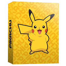 Pokemon CA-02-PK A4 Pikachu Ring Binder with 4 Ring