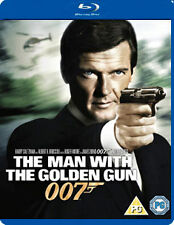 THE MAN WITH THE GOLDEN GUN - BLU-RAY - REGION B UK