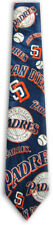 Men's MLB San Diego Padres Baseball Ties Necktie - New